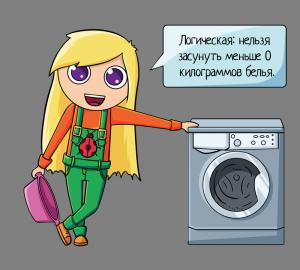 112. Катя и стиралка. логика